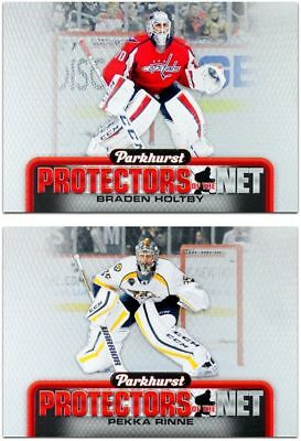2016-17 Parkhurst Protectors Of The Net **** PICK YOUR CARD **** From The SET