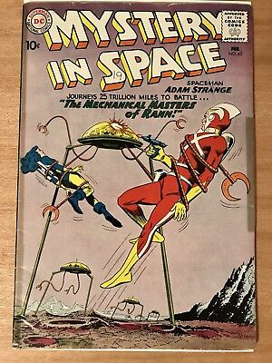 Mystery In Space #65 (1961) Cool Adam Strange Cover - C. Infantino Art!