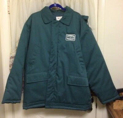 Hess Gas Station Winter Jacket Coat with Hood XL - NEW WITH TAG