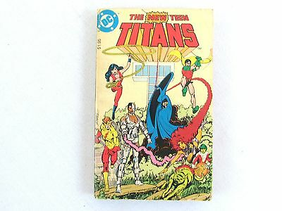 DC Comics/Tor The New Teen Titans MMPB Book Marv Wolfman 1982