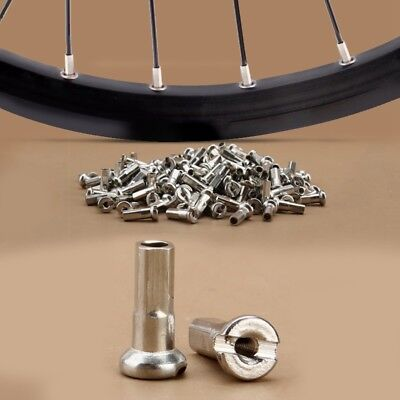36Pcs/Lot Bicycle Spoke Nipples Rust-proof 12mm 10/12/13/14G Bike Wheel Nipple