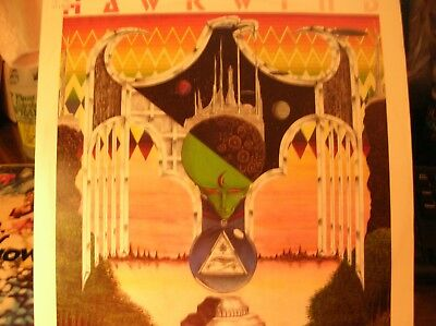 HAWKWIND Earth Ritual Preview Night of the Hawks + 3 1983 UK EP Flicknife M-
