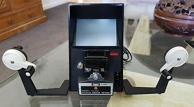Vintage Goko A 303 Dual 8 Editor Viewer Working With Instructions Made in Japan