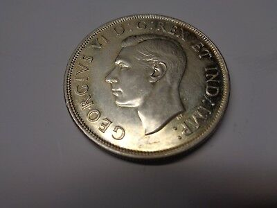 Rare 1945 Canadian Silver Dollar (Rare and low mintage) (Almost Mint)