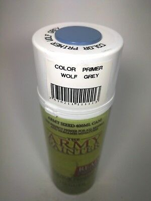 Color Primer - Wolf Grey - Army Sized 400 ml CAN / Sprühdose