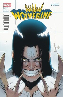 All New Wolverine (2015) #  13 Variant By Bengal (9.0-NM)