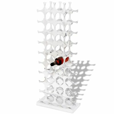 121cm 40 Bottle Aluminium Wine Rack Holder Display Shelf Cabinet Storage Stand