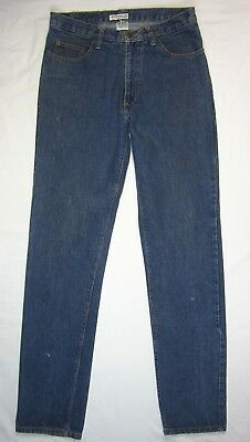 GUESS • 32 X 35 • Slim Fit Straight Leg Zip-Fly Jeans • VINTAGE USA