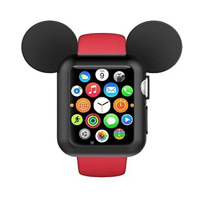 Apple Watch Case 38mm Soft Flexible Bumper Cover for iWatch Series 3/2/1 Mickey