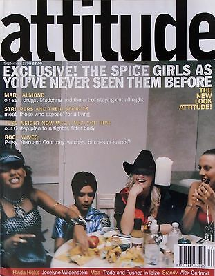 Spice Girls Exclusive * Attitude * Sept '98 * Htf! * Marc Almond * Gay Interest