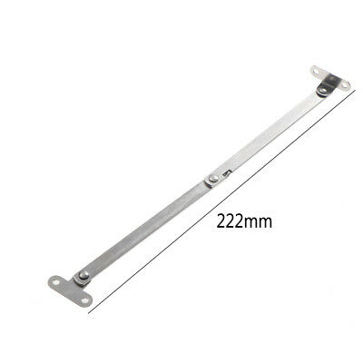 Stainless Steel Cupboard Furniture Door case Close Lift Up Stay Support Hinge WF