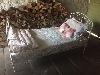 Antique French Colapsable Single Bed
