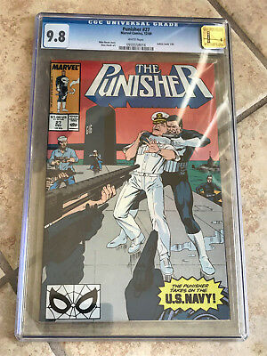 THE PUNISHER #27 Vol. ONE cgc 9.8 GOLDEN STATE Pedigree