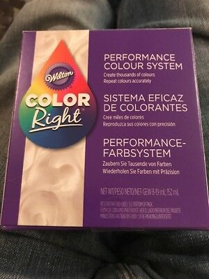 Wilton Color Right Performance Food Icing Fondant Batter Color System - 601-6200