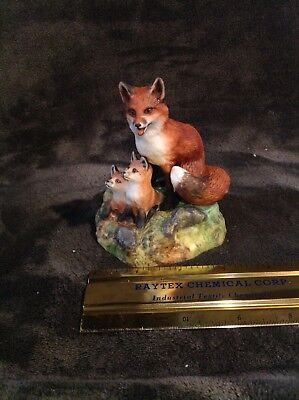 """Vintage red fox """"1st Adventure"""" 30 years old but never displayed 367"""