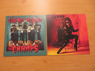 The CRAMPS Look Mom no Head ! (IRS) vg+ / Flamejob (Creation) nm 1st Pressing