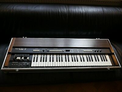 Roland VK-7 Orgel m. Leslie Effekt, Organ, Keyboard, Flight-Case. TOP Zustand!