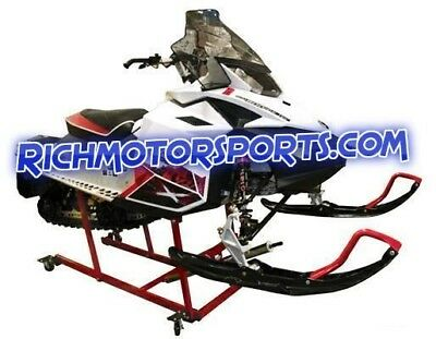 Extreme Max PRO Snowmobile Lift Stand with Heavy Duty Wheel Kit 2 yr. Warranty