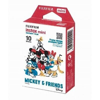 For Fuji 7s 8 9 Fujifilm Instax Mini Film Disney Mickey Instant 10 Sheets Photo