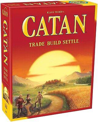 Settlers of Catan 5th edition Core Set Family Board Game - Free shipping