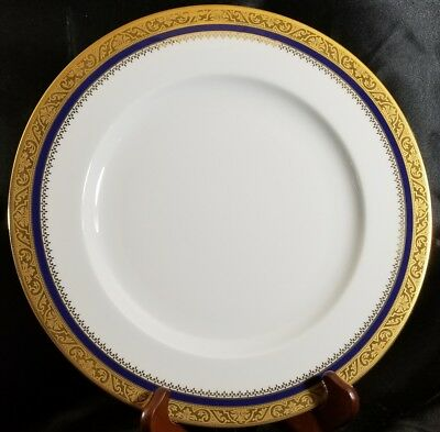 "Phillipe Deshoulieres Marquis Blue Dinner Plate 10 3/8"" NEW (multiple available)"