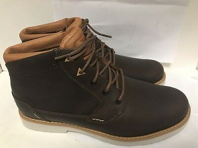 Teva Mens Durban Brown Leather Boots Size 10M # 1008302 (146)
