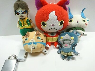 Small 5 Doll Yokai Watch.Japan Version.  Shipping Free.