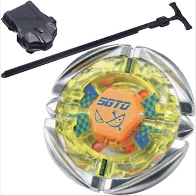 Flame SAGITTARIO Metal Fusion 4D Beyblade STARTER SET w/ Launcher & Ripcord USA