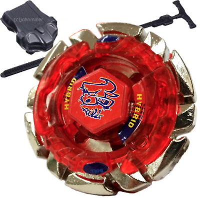 Dark Bull Metal Fusion Beyblade BB-40 STARTER SET w/ Launcher & Ripcord