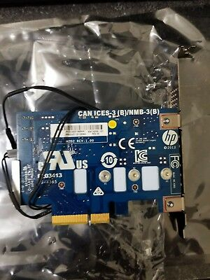 HP Samsung 256GB Z Turbo Drive G2 with PCIe Card  HP Spare # 742006-003