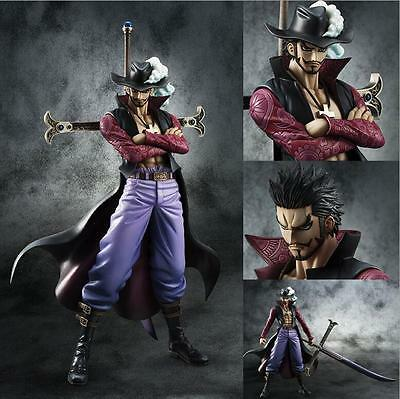 NEW Anime One Piece POP DX Dracule Mihawk Ver.2 PVC Figure Toy Gift  24cm  ZML