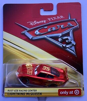 CARS 3 -  LIGHTNING MCQUEEN RUST-EZE RACING CENTER -  Mattel Disney Pixar -