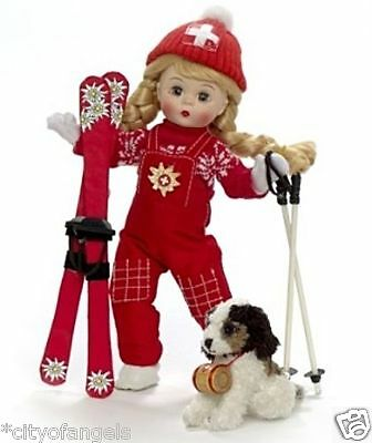 Madame Alexander Skiing The Alps Skater 8 Doll #66690