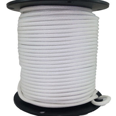 5/16″ 500 ft Bungee Shock Cord White Marine Grade Heavy Duty Shock Rope