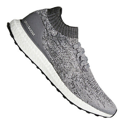 adidas Ultra Boost Uncaged Running Grau Weiss