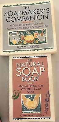 The Soapmakers Companion and The Natural Soap book both used