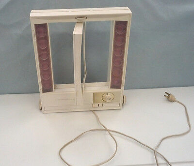 vintage clairol true to light makeup mirror with four way light selector