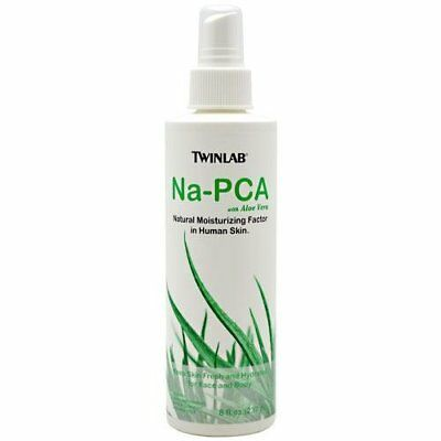 Twinlab Na-Pca, Non-Oily, With Aloe Vera - 8 Fluid Ounce  (Pack of 3)