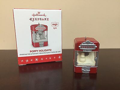 2016 Hallmark Keepsake Miniature Ornament Poppy Holidays!