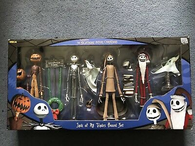 Nightmare Before Christmas Figures set by Neca, jack of all trades brand new
