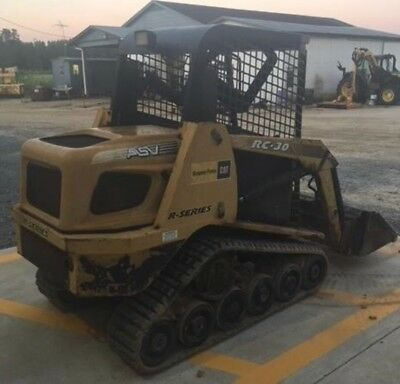 2013 TEREX ASV PT-30 Rubber Track Skidsteer - Make Offer