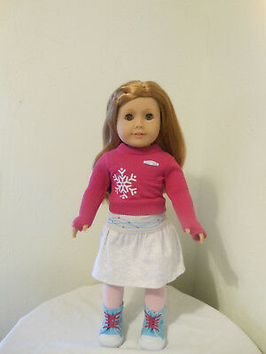 American Girl Doll - Mia in her meet outfit in original box w/ two boxes