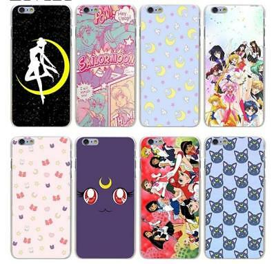 Sailor Moon Hard Phone Cover Case for iphone XS Max XR X 8 7 6 plus