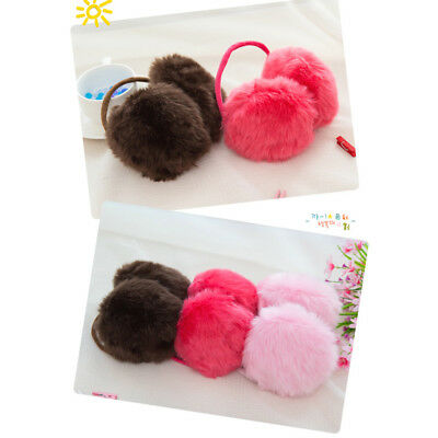 Ear Muffs Earmuffs Gift Keep Warm Warmer Women Winter Cute Pure Plush