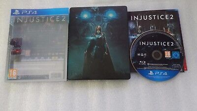 Injustice 2 PS4 Steelbook Edition for Sony PlayStation 4