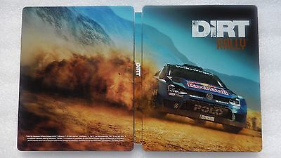 Dirt Rally PS4 Steelbook ONLY for PlayStation 4 - DIRT Steelbook PS4/XBOX ONE