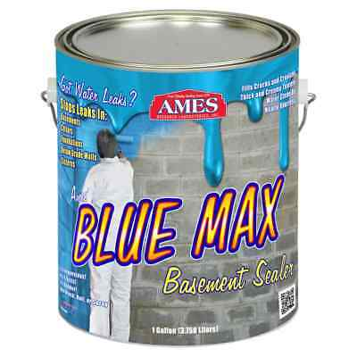 Ames 1-Gallon Blue Max Liquid Rubber Membrane Waterproofing Coating -NEW