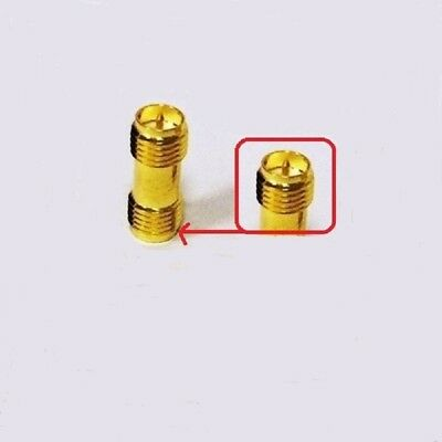 RP SMA Female to RP SMA Female Straight RF Coaxial Adapter connector UK Seller