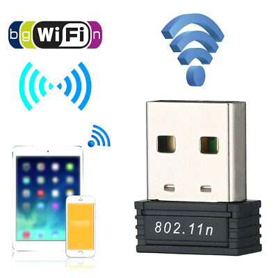 Mini Wireless 150Mbps USB Adapter WiFi 802.11b/n/g 150M Network LAN Card Dongle