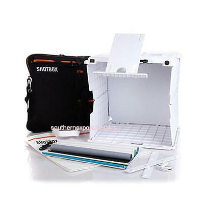 ShotBox Collapsible Photo Studio with Accessories + Storage Tote New In Box